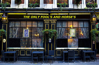 Photograph - The Only Fool's And Horse's by David Pyatt