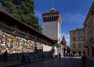 The Open Air Art Gallery Art Print by Panoramic Images
