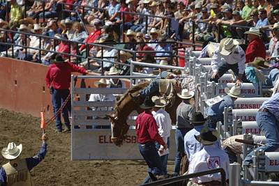 Cowboy Hat Photograph - The Open Gate by Jeff Swan