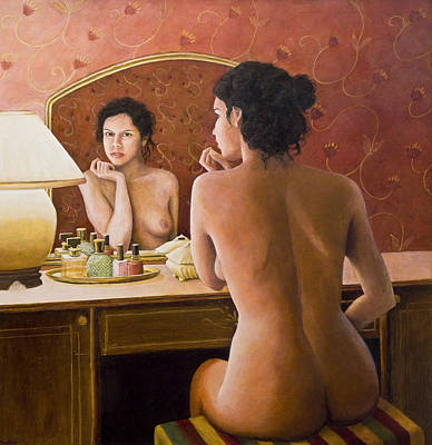 Painting - The Open Secret by Don Perino