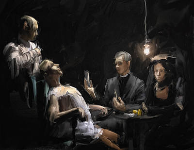 Healthcare Digital Art - The Operation by H James Hoff