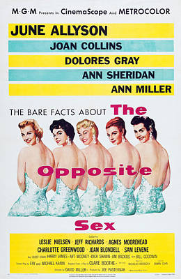 Dolores Photograph - The Opposite Sex, Us Poster Art by Everett