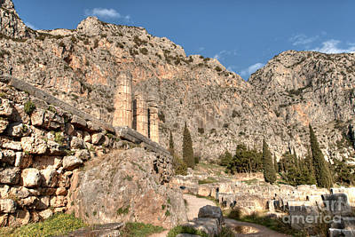 Photograph - The Oracle At Delphi 3 by Deborah Smolinske