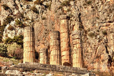 Photograph - The Oracle At Delphi by Deborah Smolinske