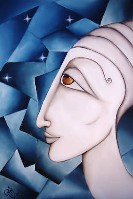 Painting - The Oracle by Simona  Mereu