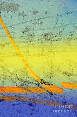Photograph - The Orange Line by Tara Turner