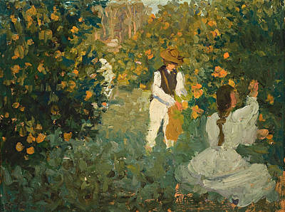 Painting - The Orange Pickers by Emanuel Phillips Fox