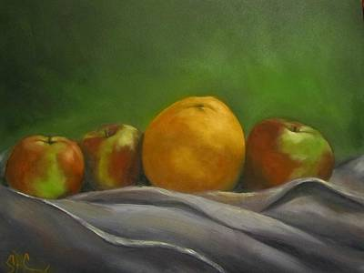 The Orange Art Print
