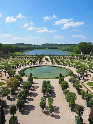 The Orangerie At Versailles Art Print by Alex Cassels