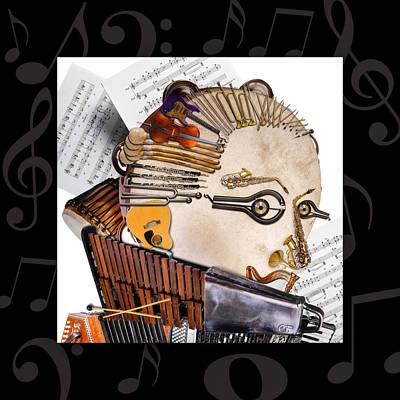 Sicily Digital Art - The Orchestra by Alessandro Della Pietra