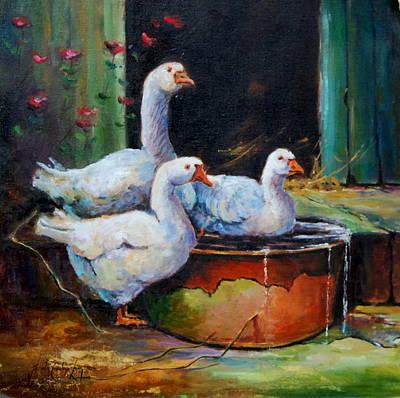 The Order Of The Bath Original by Jacinta Crowley-Long