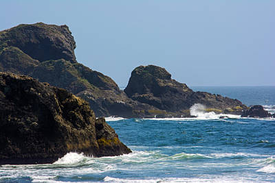 Photograph - The Oregon Coast by Tikvah's Hope