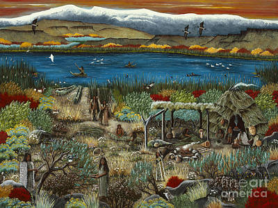 Painting - The Oregon Paiute by Jennifer Lake