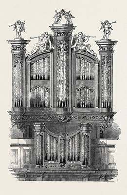 The Organ At St. Jamess Church, Piccadilly Art Print