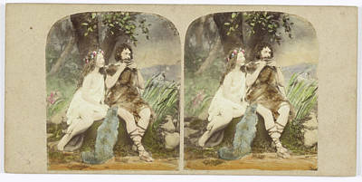 The Origin Of Music Lorigine De La Musique Art Print