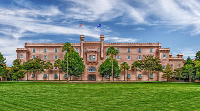 Photograph - The Original Citadel - Charleston by Frank J Benz