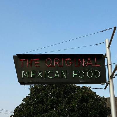 Photograph - The Original Mexican Food Restaurant by Shawn Hughes