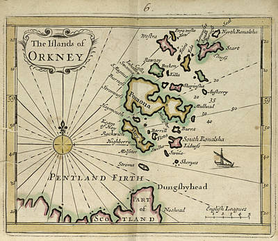 The Orkney Islands Art Print by British Library