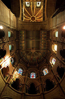 Eire Photograph - The Ornate Ceiling,st Finn Barres by Panoramic Images