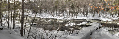Photograph - The Ossipee River by David Bishop