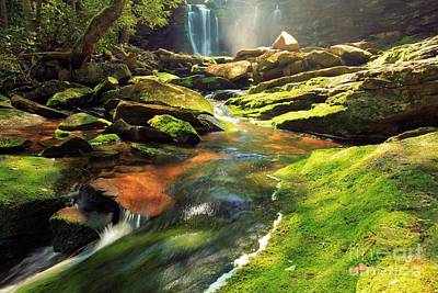 Photograph - The Other Falls by Adam Jewell