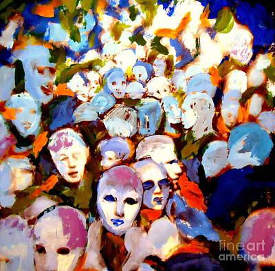 The Other Side Art Print by Helena Wierzbicki
