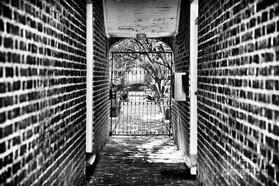Photograph - The Other Side Of The Gate by John Rizzuto