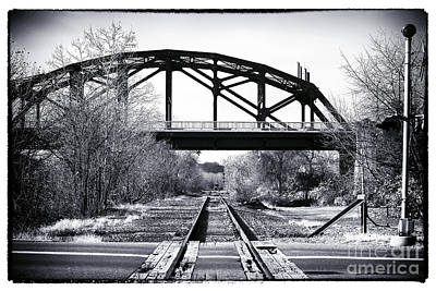 Photograph - The Other Side Of The Tracks by John Rizzuto
