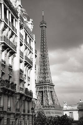 Photograph - The Other View Of The Eiffel Tower by For Ninety One Days