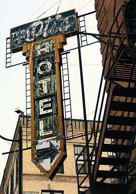 The Otis Hotel Art Print