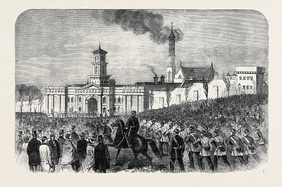 The Outbreak Among The Convicts At Chatham St Art Print
