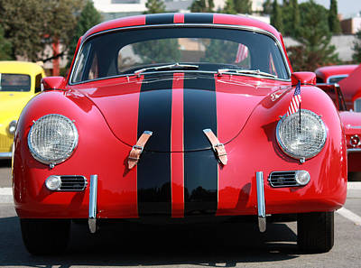 Photograph - The Outlaw 356 Porsche by Rita Kay Adams