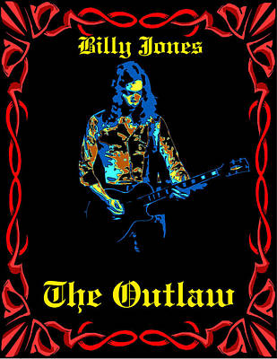 Photograph - The Outlaws Billy Jones Has Been Framed by Ben Upham