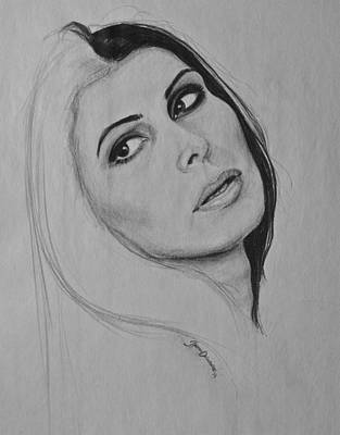 Drawing - The Over Look by Jazmin Angeles