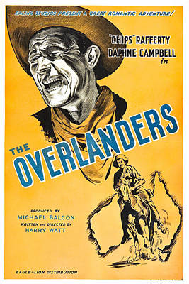 Rafferty Photograph - The Overlanders, Us Poster, Chips by Everett