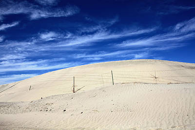 Sand Fences Photograph - The Overtaking by Laurie Search