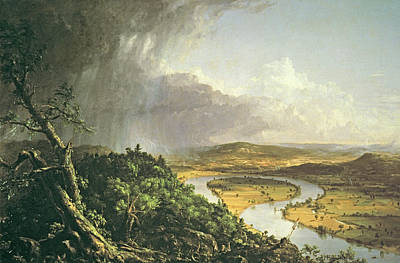 Hudson River School Photograph - The Oxbow The Connecticut River Near Northampton 1836 Oil On Canvas by Thomas Cole