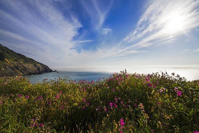 Photograph - The Pacific Coastline by Debra and Dave Vanderlaan