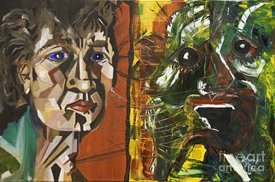 Painting - The Pain And The Anguish by James Lavott