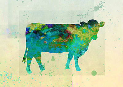 Painting - The Painted Cow  by Ann Powell
