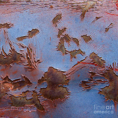 Photograph - The Painted Desert Abstract Square by Lee Craig