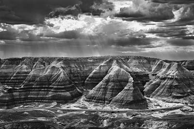 Painted Desert Photograph - The Painted Desert Of Arizona by Jesse Castellano