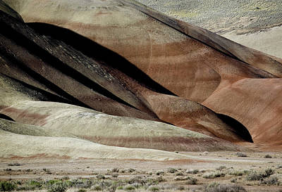 Photograph - The Painted Hills 3 by Gary Neiss