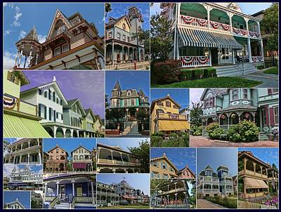 Photograph - The Painted Ladies Of Cape May by Allen Beatty