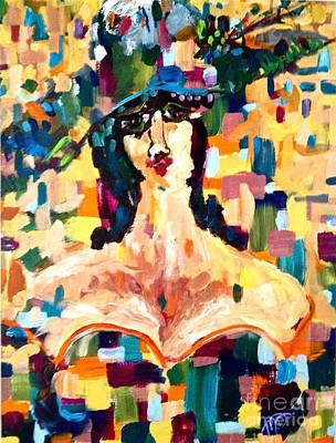 Painting - The Painted Lady by Michelle Dommer