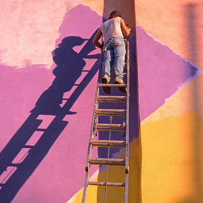 Painter Photograph - The Painter by Don Spenner