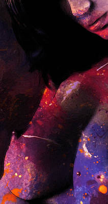 Painter Digital Art - The Painters Work by Steve K