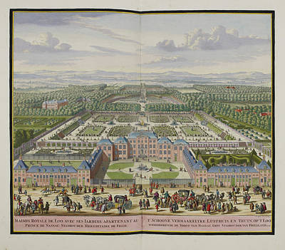 The Palace At Loo Art Print by British Library