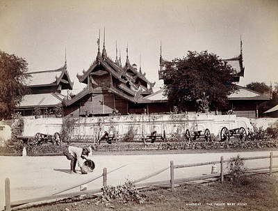 Burma Photograph - The Palace by British Library