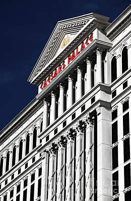 Caesars Palace Photograph - The Palace Of Caesar by John Rizzuto
